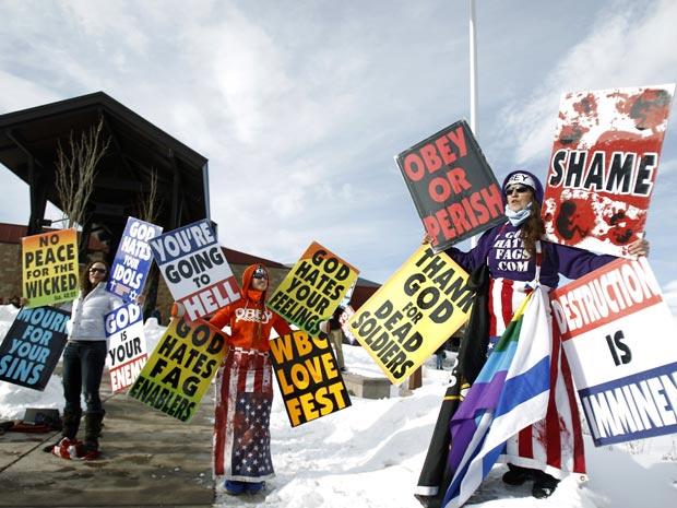 Grupo religioso protesta contra filme no Festival de Sundance - Crédito: Foto: Mario Anzuoni/Reuters
