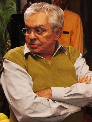 O humorista Chico Anysio  - Crédito: Foto: Divulgação/TV Globo