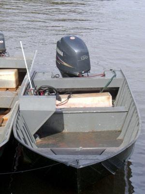 Embarcação onde droga era transportada, segundo a Polícia Federal. - Crédito: Foto: Divulgação/PF