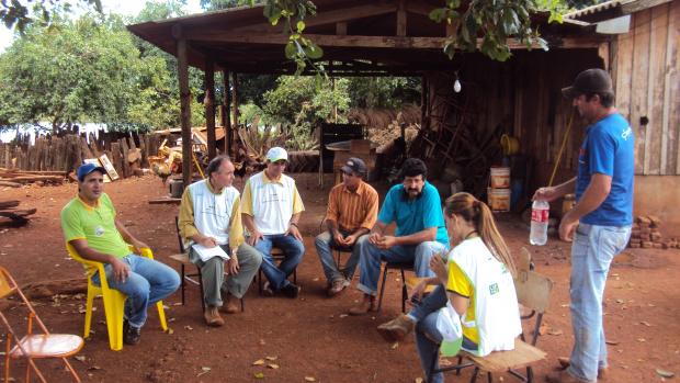 Reunião de sensibilização com os produtores rurais   - Crédito: Fotos: Divulgação
