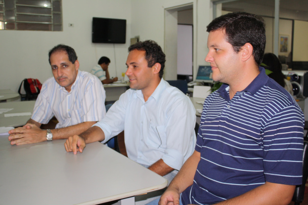 Mito Gebara, Rui Lameiro e Bruno Tomazini  - Crédito: Foto: Hedio Fazan