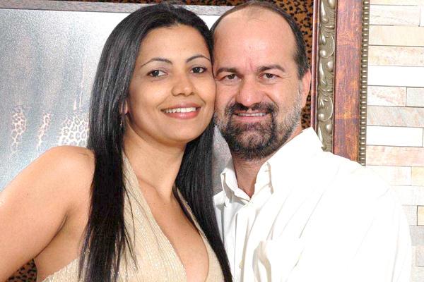 O prefeito de Caarapó, Matheus Palmas de Farias, e a esposa Janete Maria de Souza. Ele é parceiro deste jornal. -