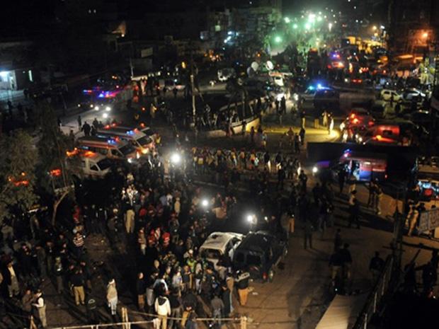 Local do atentado desta terça-feira - Crédito: Foto: AFP