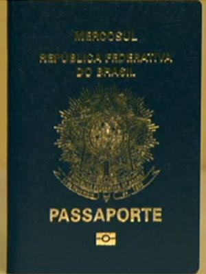 Emissão de passaporte vai ficar comprometida durante modernização de parque tecnológico da PF  - Crédito: Foto: Reprodução/TV Globo