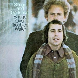 Capa do álbum \'Bridge over troubled water\', lançado originalmente em 1970 - Crédito: Foto: Reprodução