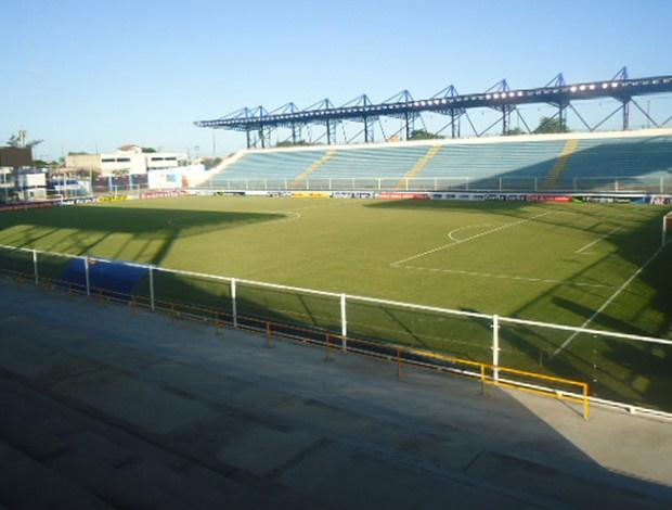 Estádio municipal Cláudio Moacyr, em Macaé - Crédito: Foto: Richard Souza / Globoesporte.com