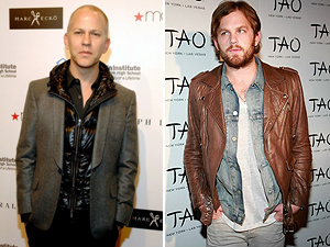 Ryan Murphy e Caleb Followil, do Kings of Leon  - Crédito: Foto: AFP