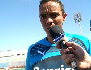 Lúcio será titular do Grêmio no Estádio Centenário  - Crédito: Foto: Eduardo Cecconi / GLOBOESPORTE.COM