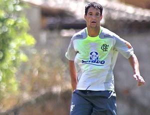 Thiago Neves no treinamento do Flamengo - Crédito: Foto: Maurício Val / VIPCOMM