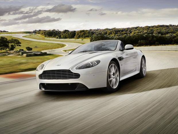 Aston Martin Vantage V8 S - Crédito: Foto: Divulgação