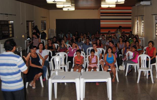 Reunião foi coordenada pela primeira dama Giovana Correia Vargas - Crédito: Foto : Fabiana Carvalho