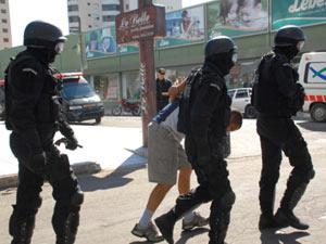 Brigada Militar faz simulação de roubo com reféns no RS - Crédito: Foto: Divulgação/Osmar Nólibos/Brigada Militar