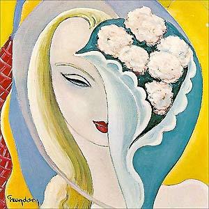 Capa do álbum \'Layla and other assorted love songs\', lançado em 1970 - Crédito: Foto: Reprodução