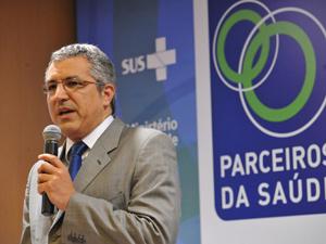 O ministro da Saúde, Alexandre Padilha, falou, na semana passada, sobre mobilização de prevenção e combate à dengue - Crédito: Foto: Elza Fiuza/ABr