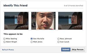 Capcha social no Facebook para autenticação quando o usuário tenta recuperar uma senha ou quando há atividade suspeita em sua conta  - Crédito: Foto: Reprodução/techcrunch.com