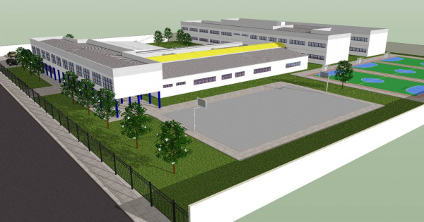 Obras de reconstrução da escola Presidente Vargas deverão ter início no mês de março Foto: reprodução -