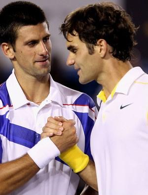 Djokovic acaba com as pretensões de Federer  - Crédito: Foto: Getty Images