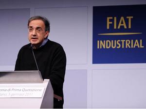 Sergio Marchionne na Bolsa de Milão - Crédito: Foto: AFP