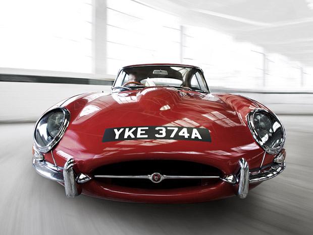 Jaguar E-Type foi exposto pela primeira vez em 1961 - Crédito: Foto: Divulgação