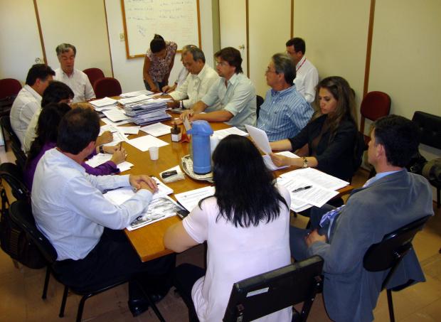 Conselho Estadual do FCO durante reunião realizada quinta-feira na Capital  - Crédito: Foto: Cristiane Sandim
