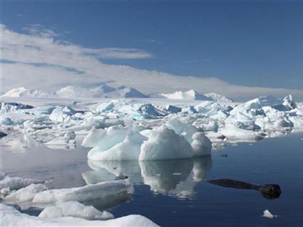 Depósito de água densa pode ser afetado por separação de iceberg, com 2.500 quilômetros quadrados, área equivalente ao tamanho do país europeu Luxemburgo. - Crédito: Foto: Alister Doyle / Reuters
