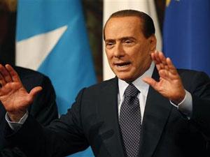 O primeiro-ministro italiano, Silvio Berlusconi, em 20 de janeiro - Crédito: Foto: Tony Gentile/Reuters