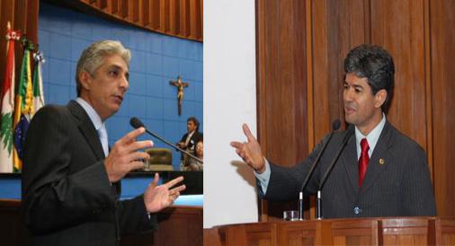 Youssif e Professor Rinaldo, suplentes, estão de olho na vaga de Carlos Marun - Crédito: Foto: Divulgação