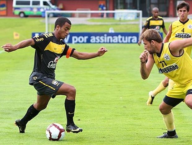 Lucas está com a seleção brasileira sub-20, que disputa o Sul-Americano no Peru - Crédito: Foto: Reprudção / CBF