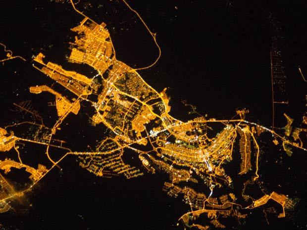 A tripulação da Estação Espacial Internacional - Crédito: Foto: Nasa