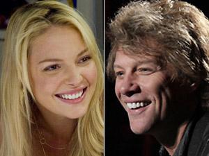 Katherine Heigl e Jon Bon Jovi farão em casal na nova comédia de Gary Marshall - Crédito: Foto: Divulgação