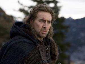 Nicolas Cage em cena do longa-metragem \'Caça às bruxas\' - Crédito: Foto: Divulgação