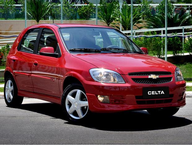 Chevrolet Celta 2012 - Crédito: Foto: Divulgação