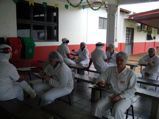 Ação junto aos trabalhadores surtiu efeito na mudança de hábitos - Crédito: Foto: Divulgação