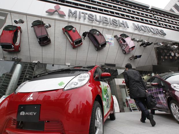 Lucro da Mitsubishi Motors cai por causa da valorização do iene e despesas operacionais - Crédito: Foto: AP