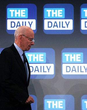 Rupert Murdoch, magnata da News Corp, lança jornal para iPad nos EUA - Crédito: Foto: Spencer Platt/AFP