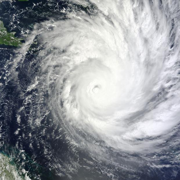 Imagem de satélite da Nasa, feita em 31 de janeiro, mostra a aproximação de Yasi - Crédito: Foto: AP