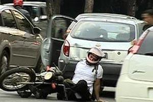 Acidente moto em Minas Gerais  - Crédito: Foto: Arquivo/TV Globo