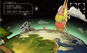 Imagem do game \'Planetary Plan C\' criado por brasileiros no Global Game Jam 2011  - Crédito: Foto: Divulgação