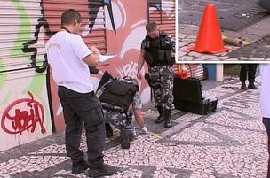 Bomba caseira na Avenida Visconde de Guarapuava  - Crédito: Foto: Reprodução/RPCTV