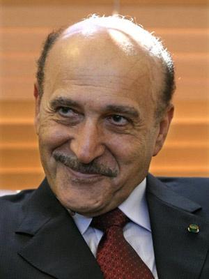 Omar Suleiman foi empossado vice-presidente em meio aos protestos. - Crédito: Foto: France Presse