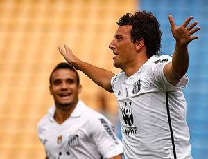 Maikon e Elano: em seis jogos, seis gols cada um  - Crédito: Foto: Ricardo Saibun/Flickr Santos FC