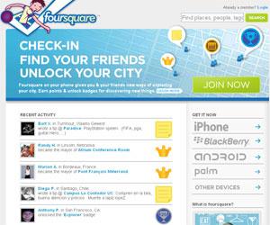 Foursquare terá locais patrocinados  - Crédito: Foto: Reprodução
