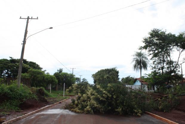 Fornecimento de energia elétrica é prejudicado durante o mau tempo - Crédito: Foto: Hédio Fazan