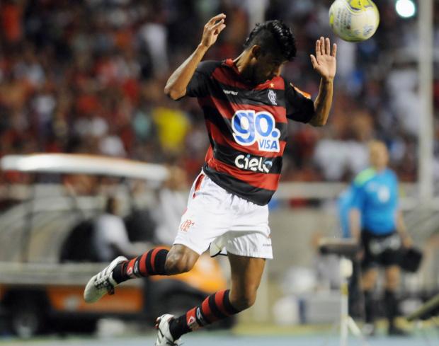 Leo Moura, lateral do Flamengo - Crédito: Crédito: Nina Lima/VIPCOMM