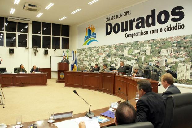As sessões da Câmara acontecem todas às segundas-feiras - Crédito: Foto: Eder Gonçalves