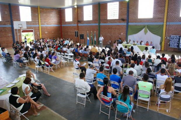 Abertura da Semana Pedagógica reuniu diversas autoridades e servidores - Crédito: Foto: José Carlos
