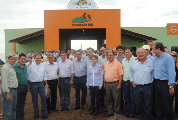 O prefeito de Maracajú, Celso Vargas elogiou o governo estadual - Crédito: Foto: Divulgação