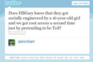 Hackers usam Twitter de diretor da empresa. \'Eles foram enganados por uma garota de 16 anos\'  - Crédito: Foto: Reprodução