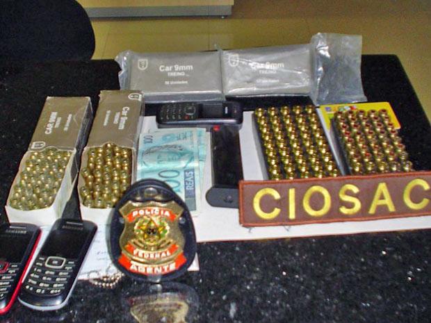 Material apreendido pela Polícia Federal - Crédito: Foto: Divulgação/Polícia Federal