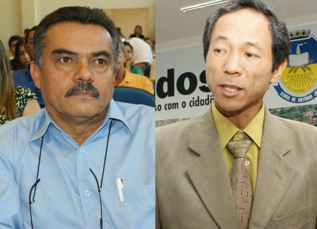 Vereadores Walter Hora e Elias Ishy podem perder cargos de suplentes na Câmara - Crédito: Foto: Divulgação